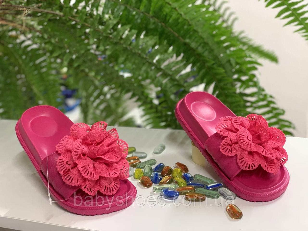 Пляжные шлепки для девочек Giolan р31-32. B-40