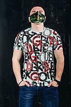 Мужская футболка в стиле Dolce Gabbana(размер M)