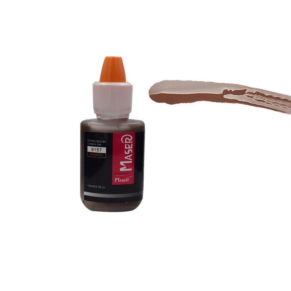 Пигмент для татуажа Maser Dark Brown 9157 (10мл)