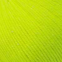 Летняя пряжа (60% хлопок, 40% акрил; 50г/ 165м) Gazzal Baby Cotton 3462 (желтый неон)