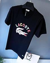 Мужская футболка в стиле Lacoste | Лучшее качество!(размер S)