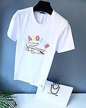 Мужская футболка в стиле Lacoste | Лучшее качество!(размер S,M,XL)