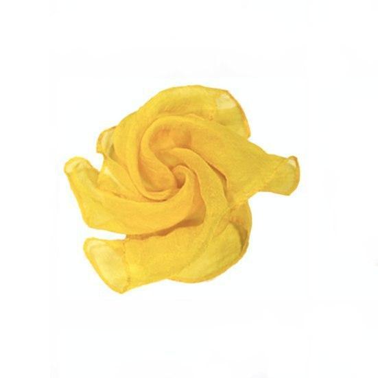 Реквізит для фокусів | жовтий Шовковий хустку (45*45см)