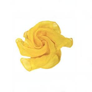 Реквізит для фокусів | жовтий Шовковий хустку (45*45см), фото 2