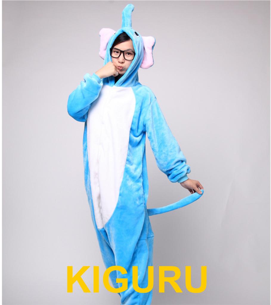 Кигуруми слон пижама