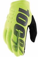 Детские зимние мото перчатки Ride 100% BRISKER Cold Weather [Fluo Yellow], YM (6)