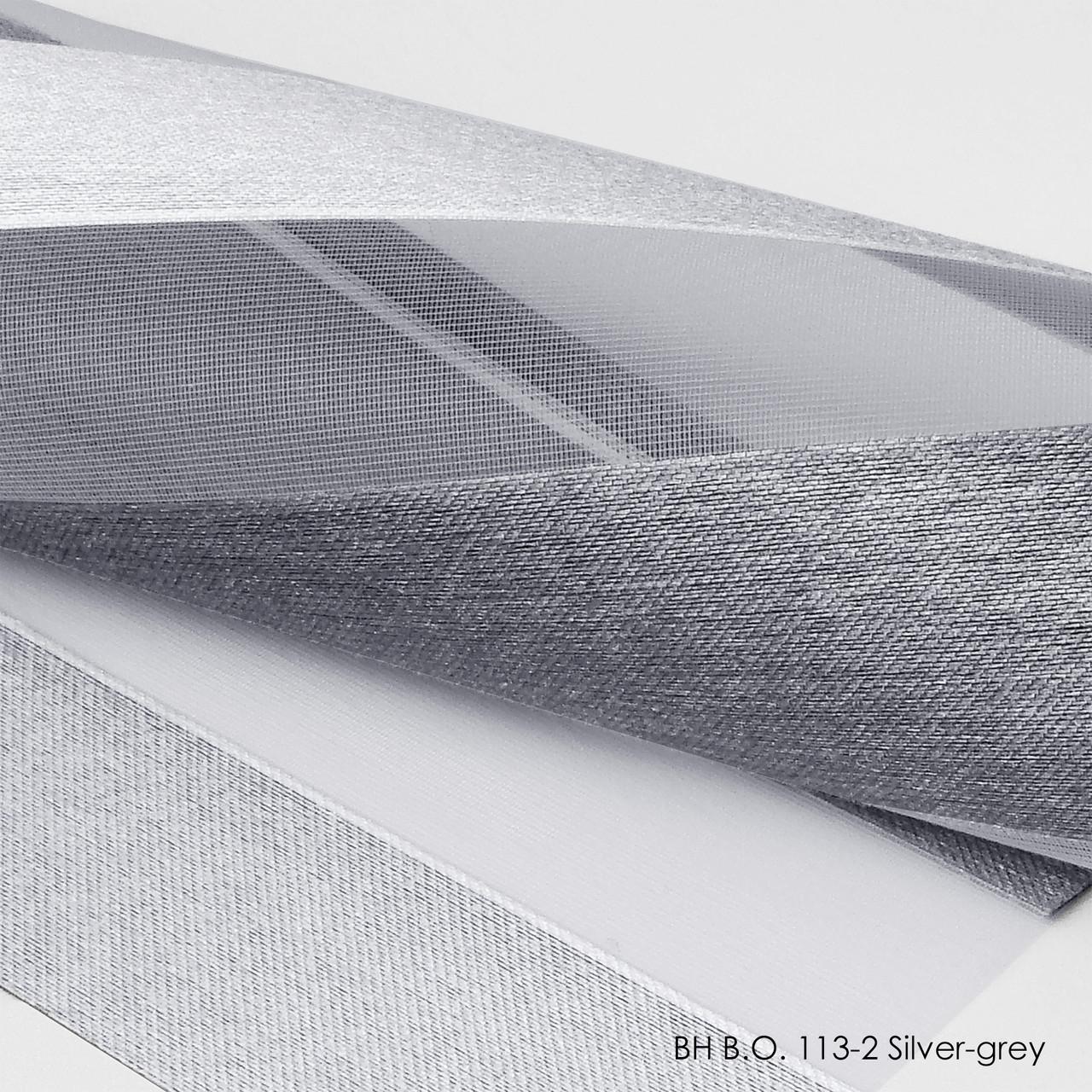 Роллеты день ночь B.O.ВН113-2Silver-Grey