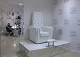 Педикюрне крісло трон Queen, фото 10