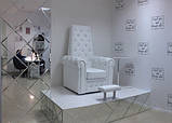 Педикюрное кресло трон Queen, фото 9
