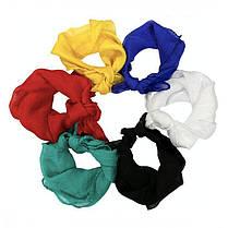 Шелковый белый платок (60*60 см), фото 2