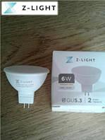 Светодиодная лампа 6W mr16 4000K Z-light