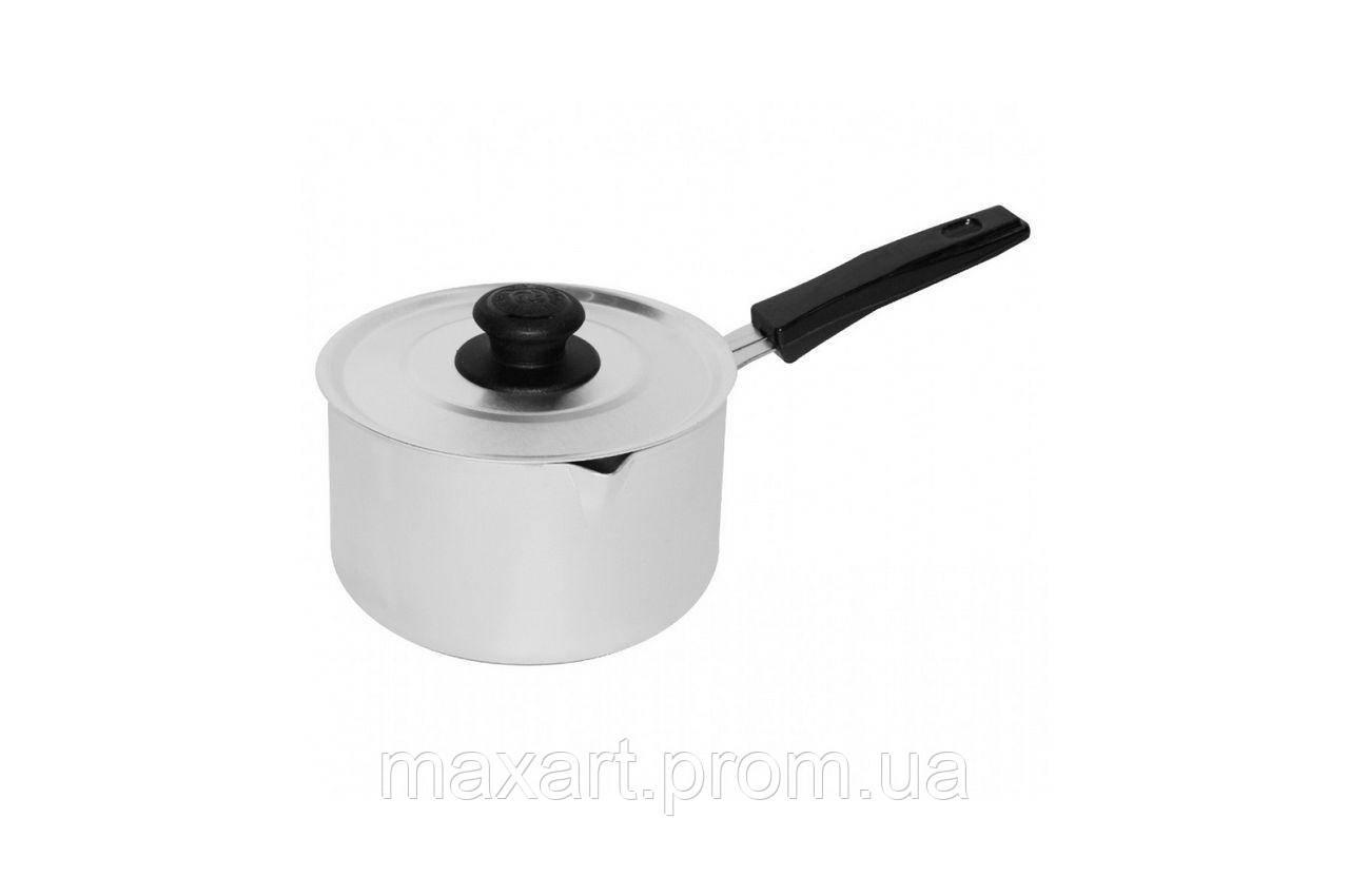 Сотейник алюминиевый Калитва - 1 л, пластик ручка с крышкой