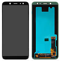 LCD Samsung A600/A6-2018 + touch Black Copy