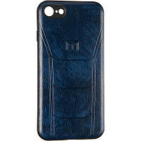 Leather Prime Case for Samsung A307 (A30s) Blue