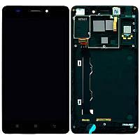 LCD Lenovo A7000 + touch + Frame Black