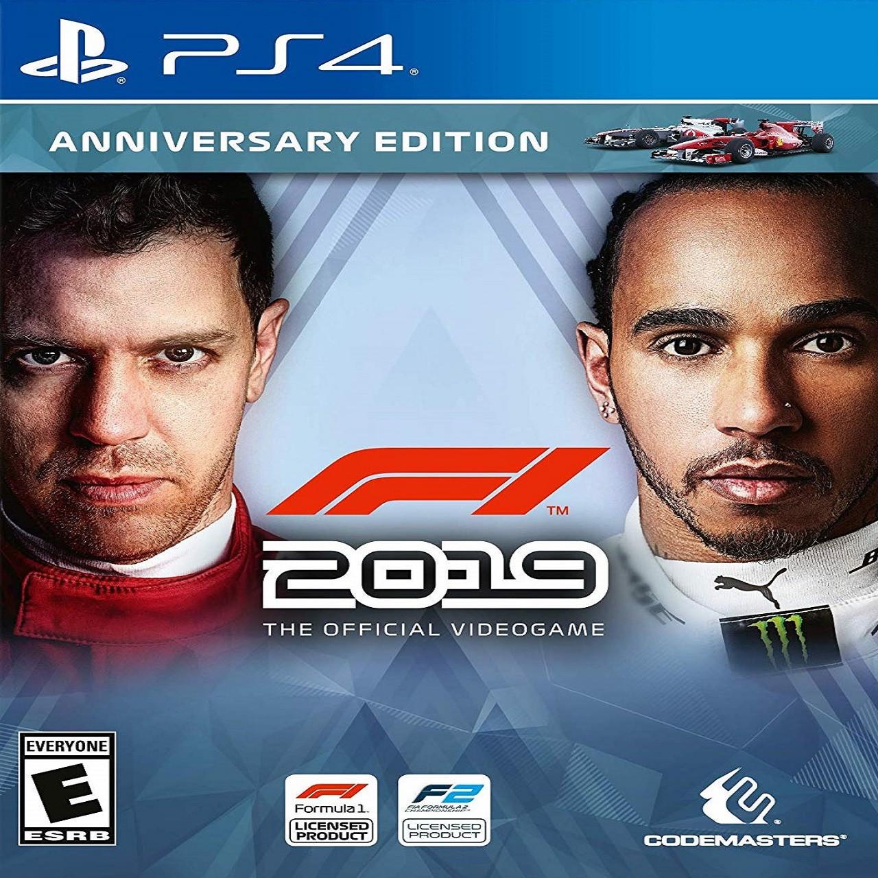 F1 2019 Annyversary Edition (російські субтитри) PS4