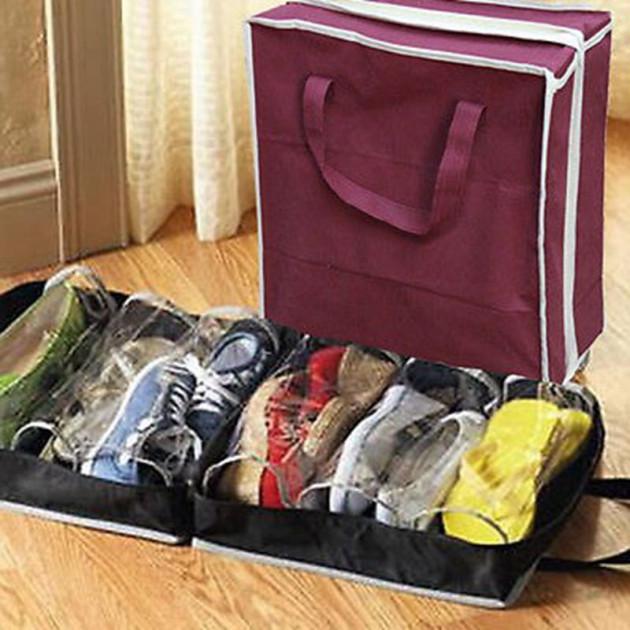 Сумка-органайзер для обуви Shoes Under Shoe Tote