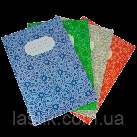 Тетрадь канцелярская, JOBMAX, А4, 48 л., клетка, картонная обложка, ассорти