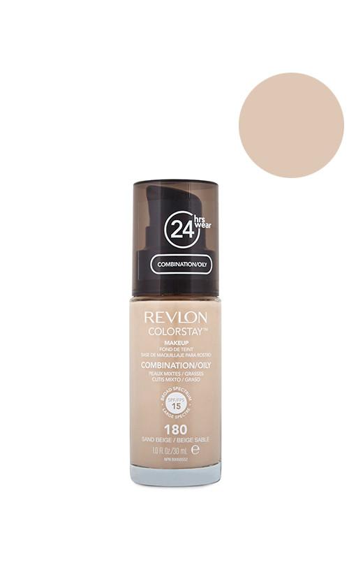 Revlon ColorStay Foundation For Combination/Oily Skin SPF15 Тональний крем 180 Sande Beige