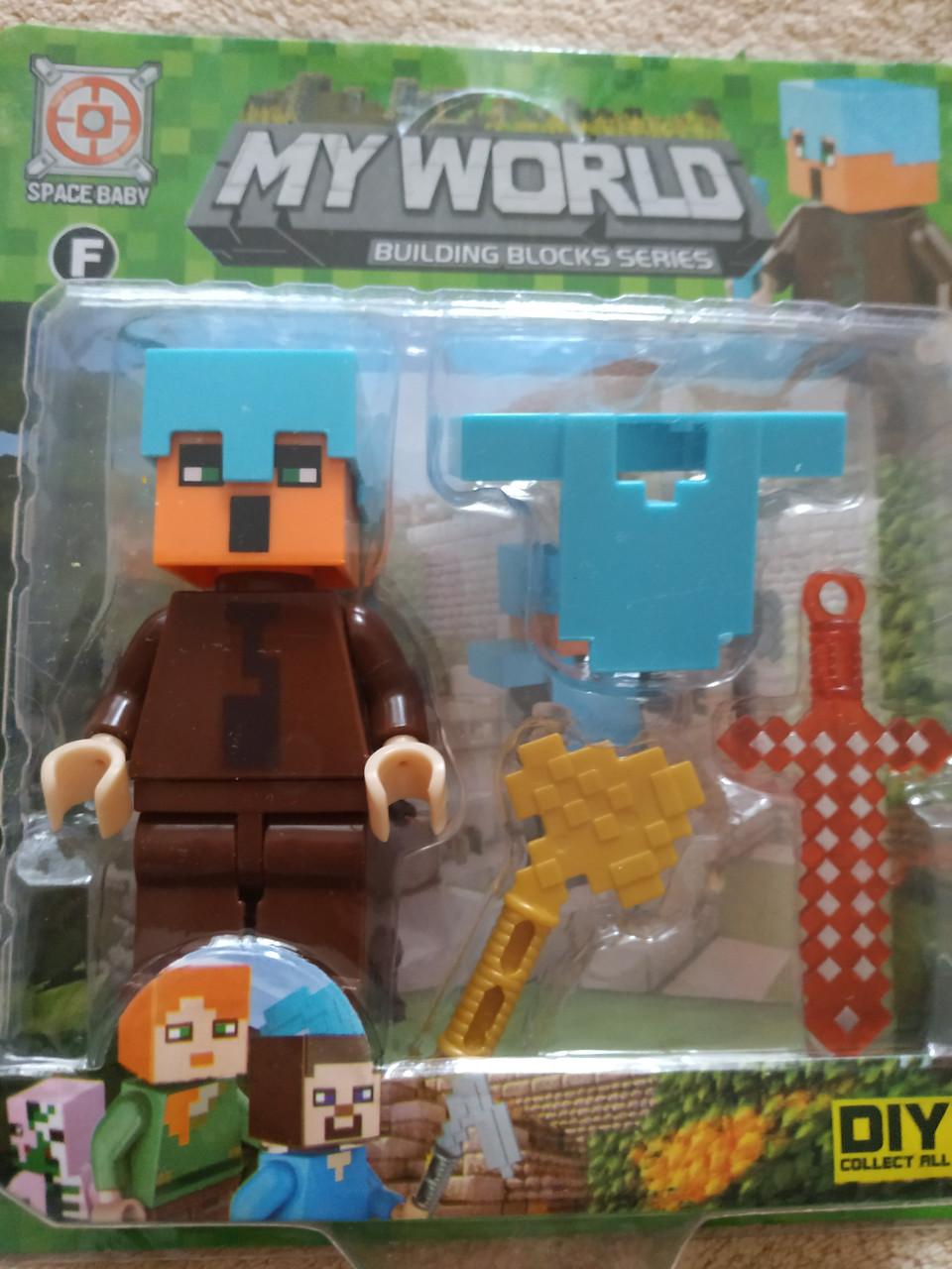 Фигурки Minecraft Житель