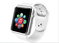 Часы Smart Watch Q8 Premium Quality WHITE. Наушники в ПОДАРОК!