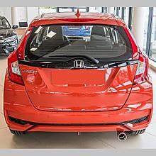 Кінцева насадка на глушнікі для Honda Jazz / Fit (GK) Mk3 2015-2020 /нерж.сталь/