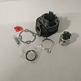 Цилиндр к-кт (цпг) Yamaha JOG 3KJ 50 сс-40мм (палец 10мм), фото 2