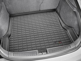Килими гумові WeatherTech Tesla Model S 2016+ в багажник чорний