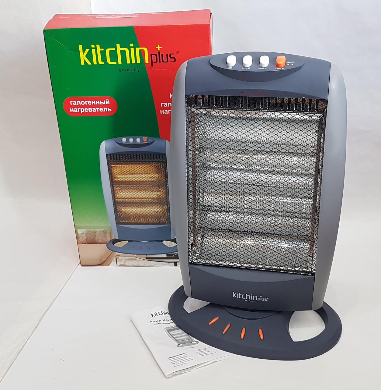 Обогреватель электрический 1200W галогенный  KP520