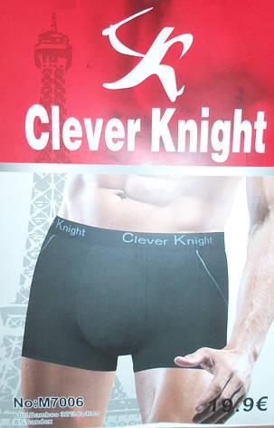 Боксеры мужские XL-4XL Бамбук  «Clever Knight» , фото 2