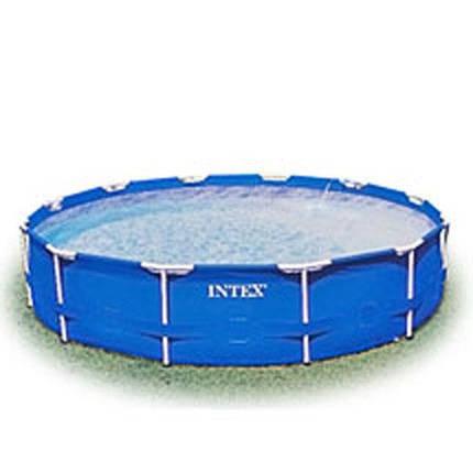 Круглый каркасный бассейн Intex 28210 366х76 см объем 6 503 л, фото 2