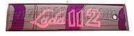 Накладка двери задка (катафот) ВАЗ 2112 с надписью