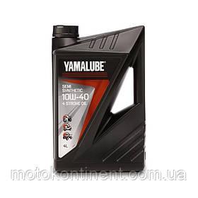 YMD-65021-04-04 Оригинальное масло для мотоцикла Yamalube 4-S 10W-40 4л