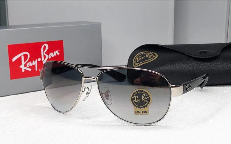 Солнцезащитные мужские очки в стиле RAY BAN 3386 003/32 Lux