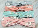 Детские повязки чалма р. 48-52 хлопок 6 шт/уп., фото 2
