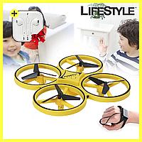 Квадрокоптер дрон TRACKER с сенсорным управлением + Наушники в Подарок