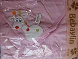 "Полотенце уголок ""Жираф"" с руковичкой для купания, фото 5"