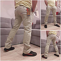 Мужские демисезонные брюки коттон фабричное качество