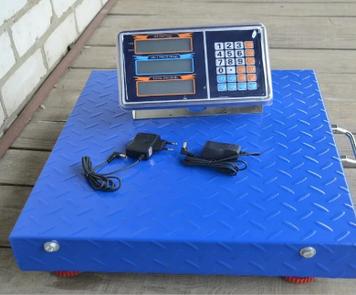 Электронные беспроводные торговые весы 600 кг  WIFI (50*60)