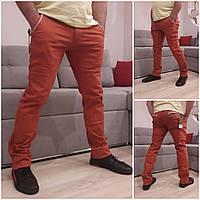 Мужские демисезонные джинсовые брюки коттон фабричное качество