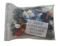 Комплект пластикового крепежа ВАЗ 2105
