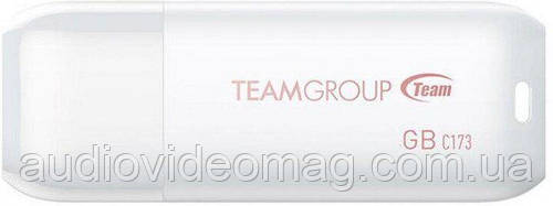 Usb Флеш накопитель (флешка) Team 64 Gb, цвет - белый