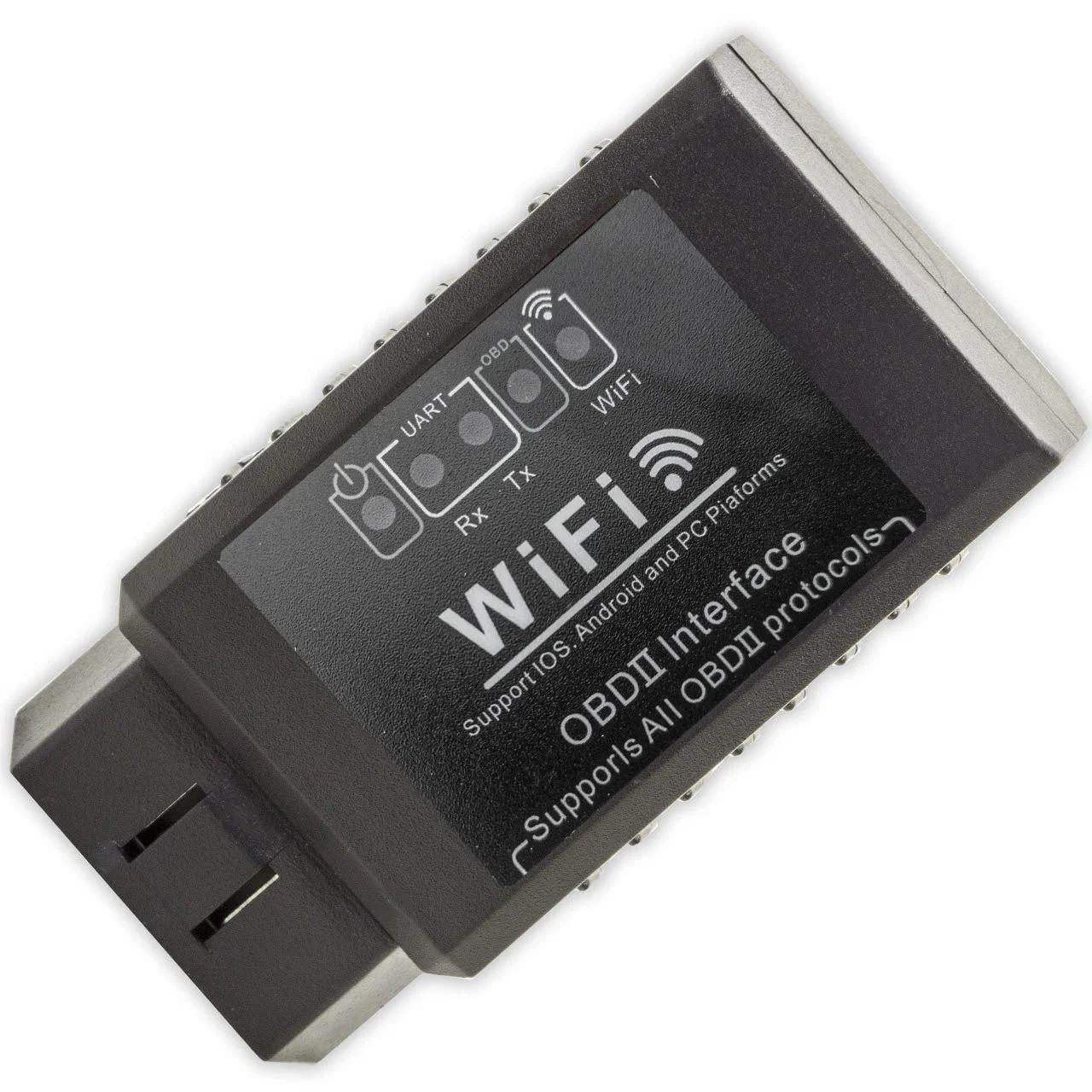 Автосканер OBD2(ОБД2)  ELM327(ЕЛМ327) SmartScan адаптер wifi
