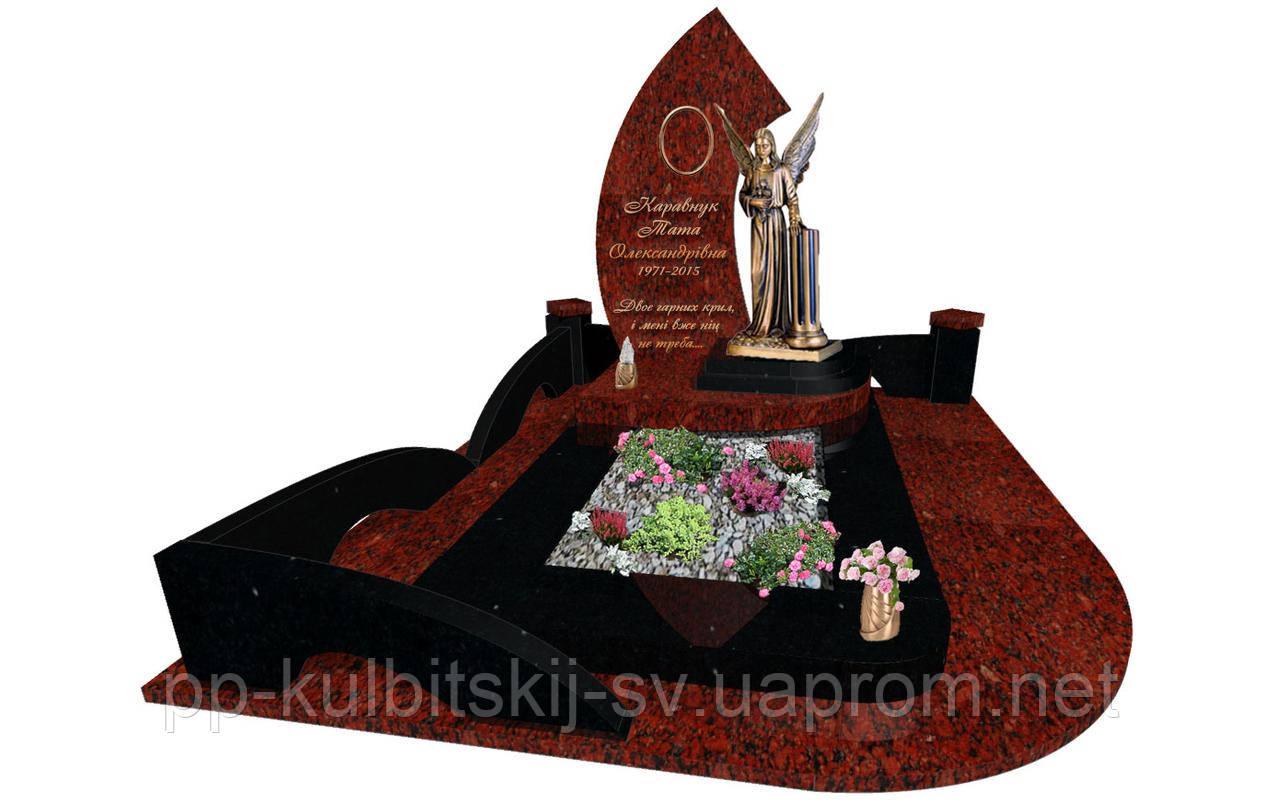 Елітний пам'ятник з граніту S6077
