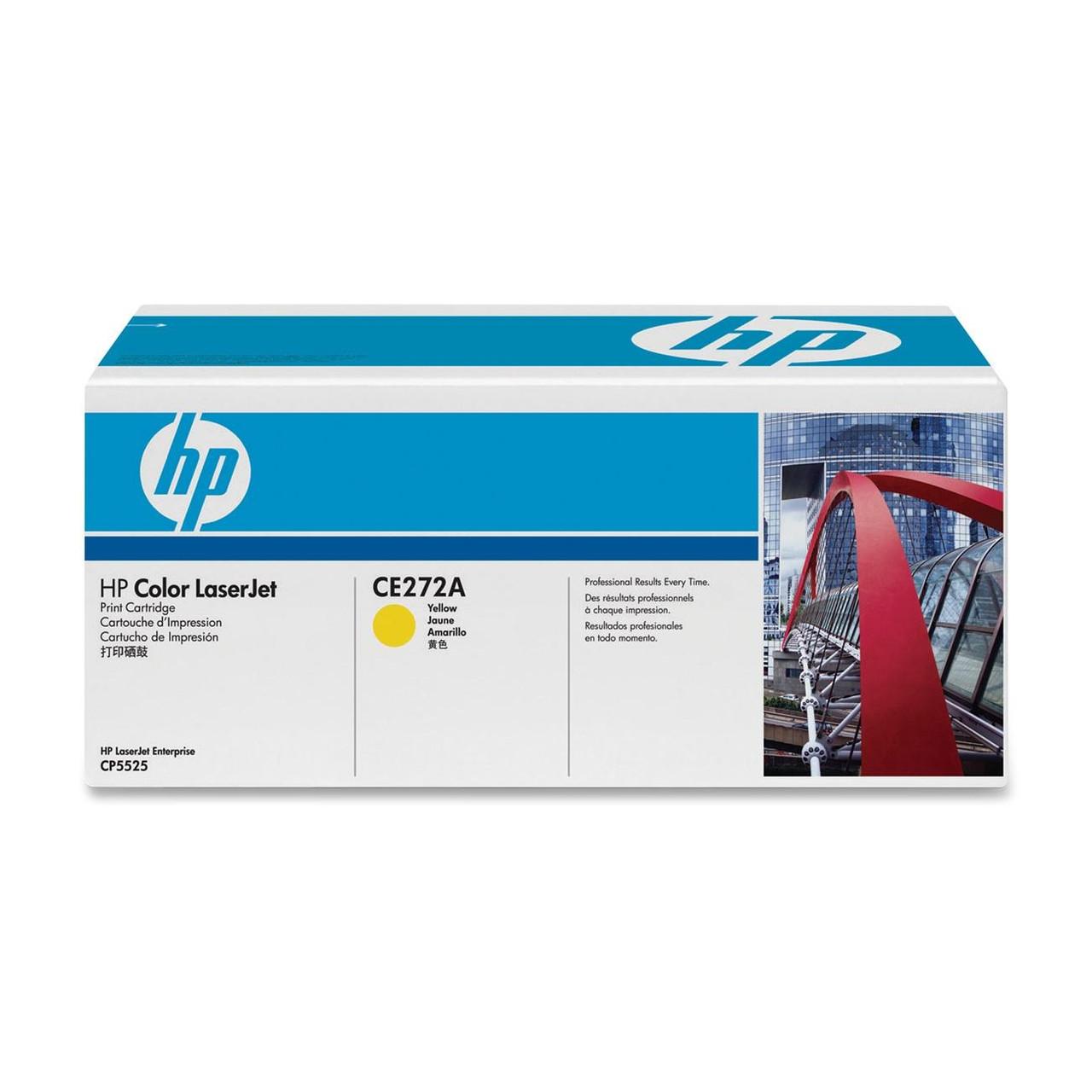 Тонер-картридж HP 650A CLJ CE271A Yellow 15000 страниц