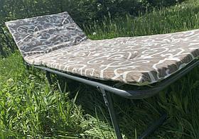 Раскладушка - кровать складная Mavens S-2 с матрасом 30 мм и подушкой (05-0002)