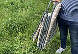 Раскладушка - кровать складная Mavens S-2 с матрасом 30 мм и подушкой (05-0002), фото 9