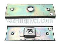 Кронштейн-пластина бампера ВАЗ 2108 (2 части)