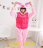 Кигуруми Пятачок пижама с ушками