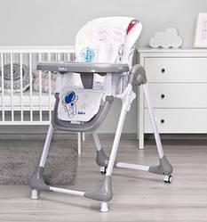 Кресло для кормления Caretero Luna Детский стульчик (Grey)